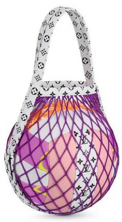 LOUIS VUITTON Purple Monogram Volleyball