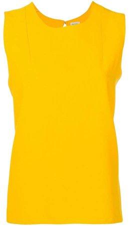 sleeveless shift top