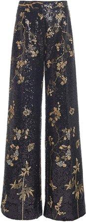 Giambattista Valli Embellished Sequined Pants