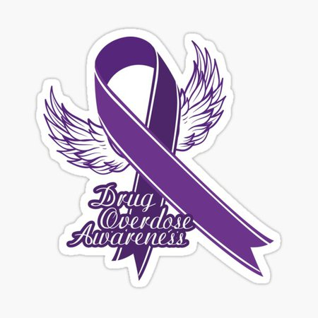 drug overdose awareness ribbon - Google Search