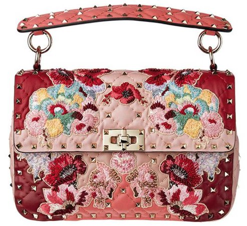 Valentino embroided bag