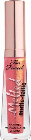 Melted Matte-tallics Liquid Lipstick
