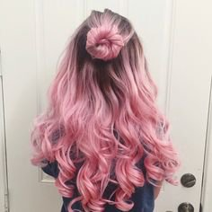 (308) Pinterest pink hair