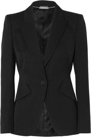 Alexander McQueen | Grain de poudre wool blazer | NET-A-PORTER.COM