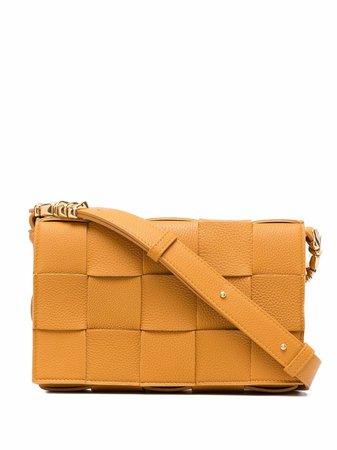 Bottega Veneta Cassette Intrecciato Shoulder Bag - Farfetch