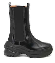 Leather Ankle Boots - Maison Margiela | Mytheresa