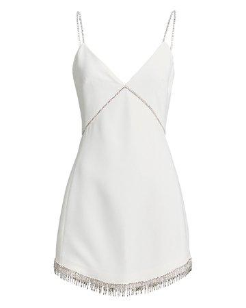 David Koma | Embellished Crepe Mini Dress | INTERMIX®