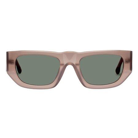 Le Trap   Tan Uni-Sex Sunglasses – Le Specs