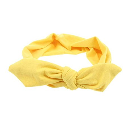 Pop Your Dream Vintage Adults Elastic Headband Cute Bunny, Yellow, Size One Size at Amazon Women's Clothing store