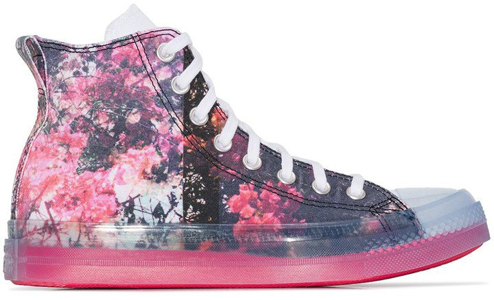 x Shaniqwa Jarvis Chuck 70 floral high-top sneakers