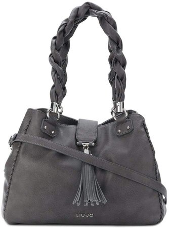 Piave braided handle tote