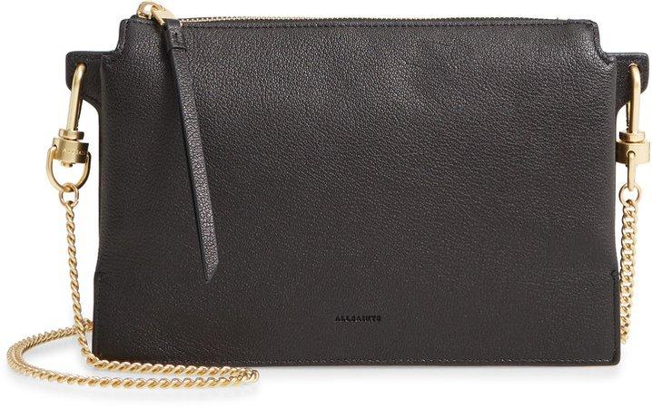 Fletcher Leather Crossbody Bag