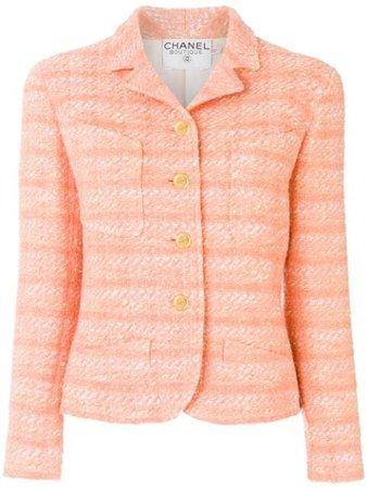 Chanel Pre-Owned 1990 Tweed Jacket - Farfetch