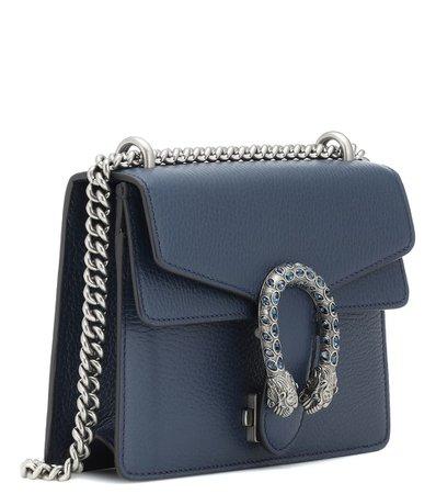 Dionysus Mini Leather Shoulder Bag - Gucci | mytheresa
