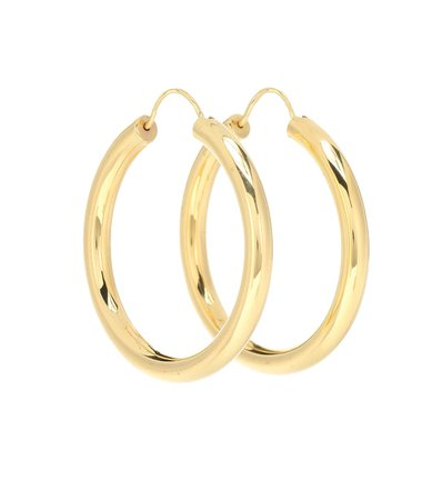 Gypsy 18-Kt Gold-Plated Hoop Earrings | THEODORA WARRE - Mytheresa