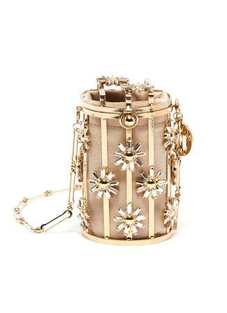 ROSANTICA   'Gelso' floral cage crossbody bag   Women   Lane Crawford