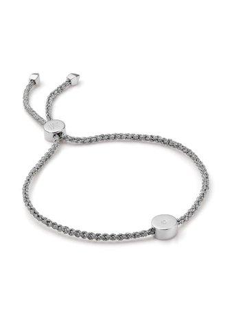 Monica Vinader Linear Solo Friendship diamond bracelet - FARFETCH