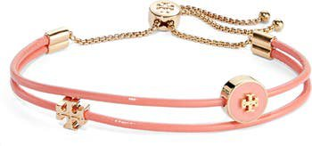 Tory Burch Enamel Logo Slider Bracelet | Nordstrom