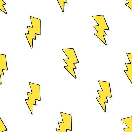 84793611-vector-illustration-seamless-pattern-with-cute-yellow-electric-lightning-bolts-on-white-background-w.jpg (450×450)