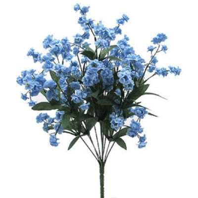 pale blue flowers png filler plant