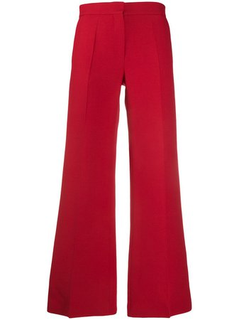 Valentino Tailored Flared Trousers - Farfetch