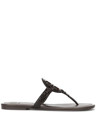 Tory Burch Miller Sandals 57284 Brown | Farfetch