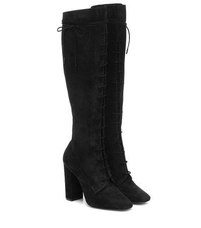 Laura Suede Boots | Saint Laurent - Mytheresa