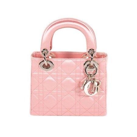 pink bag lady dior