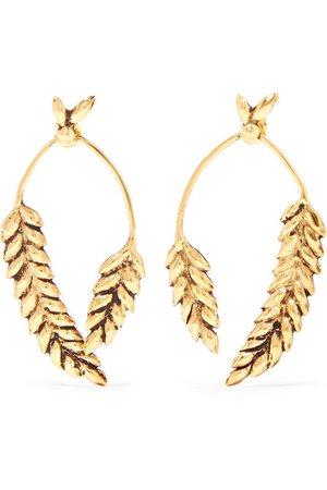 Aurélie Bidermann Gold Wheat Earring