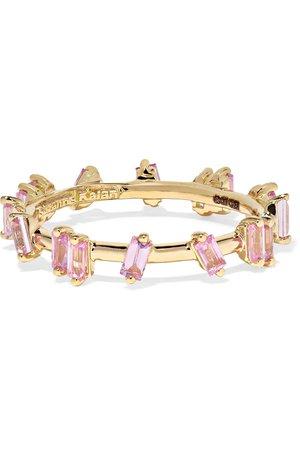 Suzanne Kalan | 18-karat gold sapphire ring | NET-A-PORTER.COM