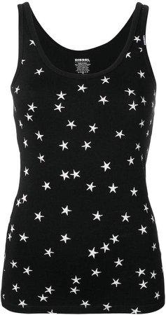 star print tank top
