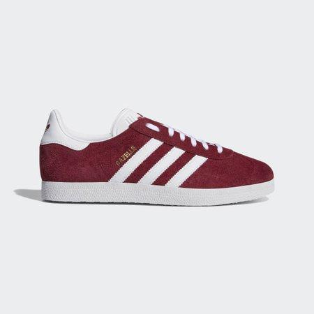 adidas Gazelle Shoes - Burgundy | adidas UK