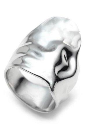 Alexis Bittar Crumpled Asymmetric Statement Ring | Nordstrom