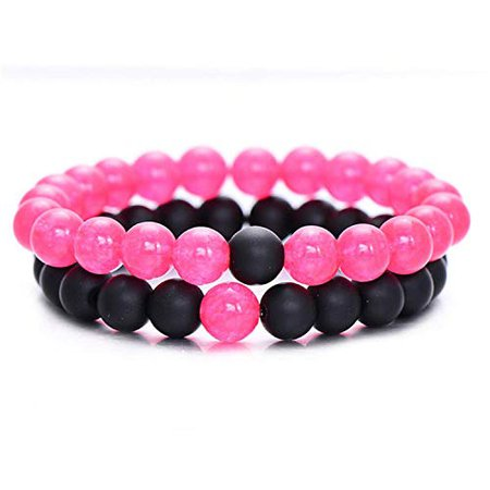 bangle pink black