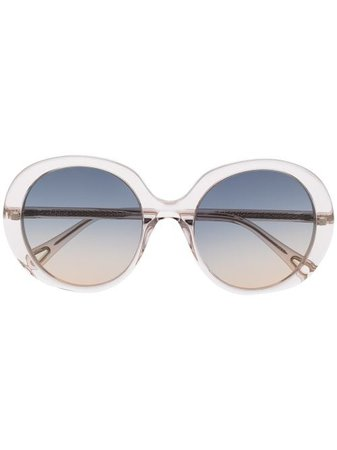 Chloé Eyewear Oversized Sunglasses - Farfetch