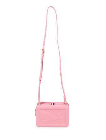 Thom Browne Pink Whale Crossbody Bag