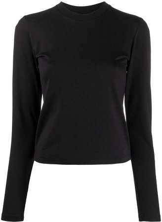 Styland long-sleeved cotton T-shirt