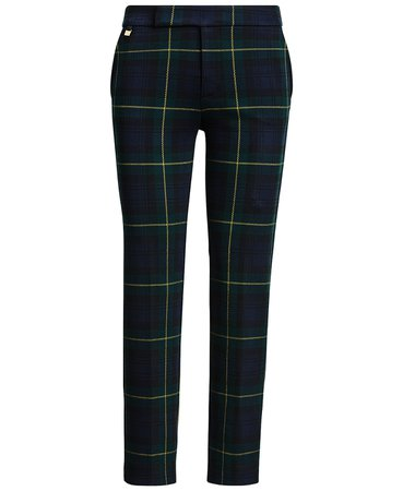 Lauren Ralph Lauren Plaid Jacquard Pants & Reviews - Pants & Leggings - Women - Macy's
