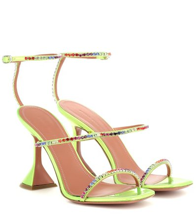 Gilda embellished leather sandals