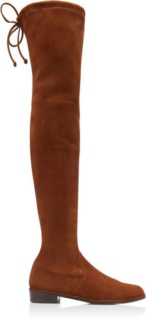 Lowland Over-The-Knee Suede Boots