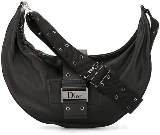 Pre Owned Street Chic half-moon shoulder bag