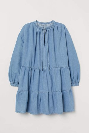 H&M+ Denim Dress - Blue