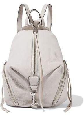 Julian Pebbled-leather Backpack