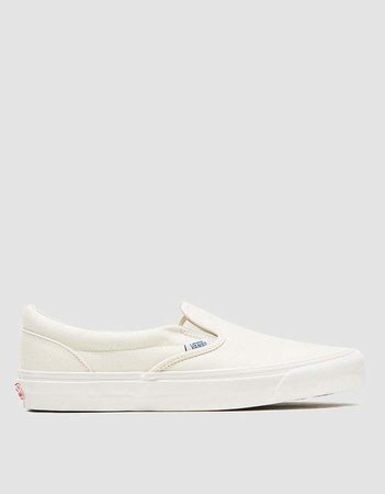 Vans Vault By OG Classic Slip-On LX White