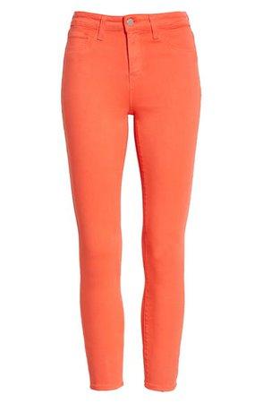 L'AGENCE High Waist Skinny Ankle Jeans | Nordstrom
