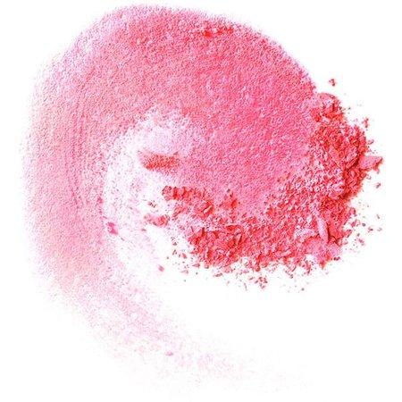 pink makeup smudge