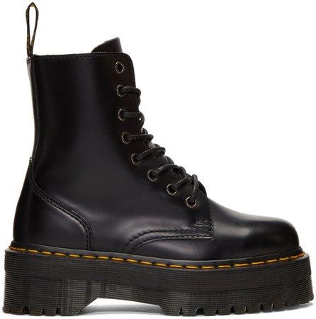 Dr. Martens Black Jadon Boots