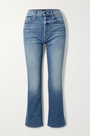 The Tripper High-rise Straight-leg Jeans - Light denim
