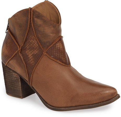 Belle Block Heel Bootie