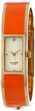Amazon.com: kate spade new york Women's 1YRU0186 Valencia Orange Carousel Watch: Clothing